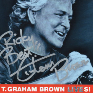T. Graham Brown Autographed CD / Country Music Memorabilia