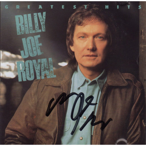 Billy Joe Royal Greatest Hits CD Autographed Country Music Memorabilia