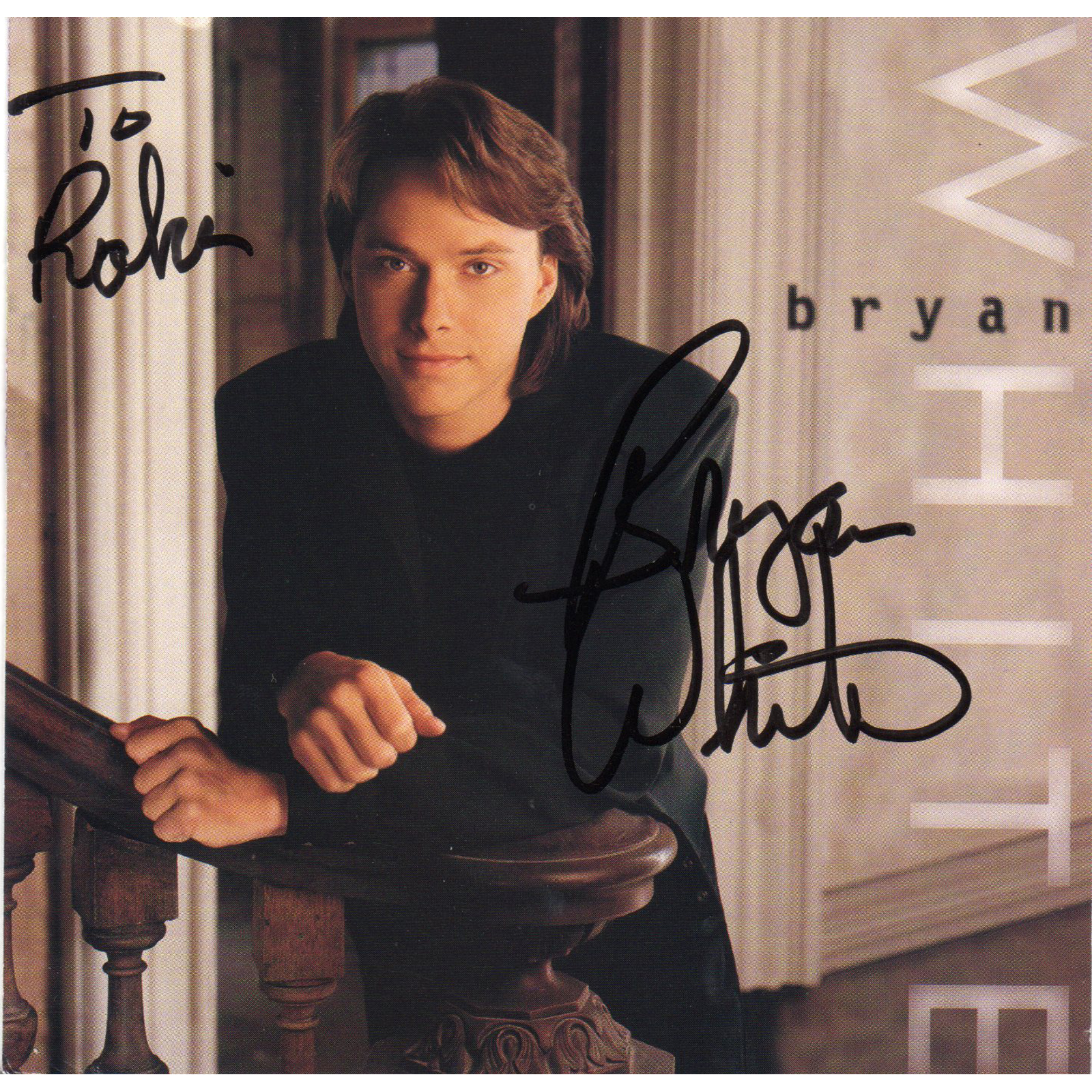 Bryan White CD Autographed Country Music Memorabilia