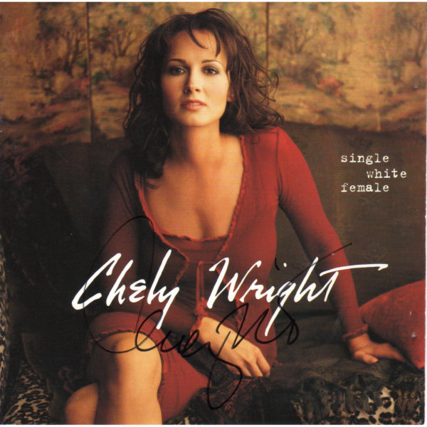 Chely Wright Single White Female CD Autographed Country Music Memorabilia