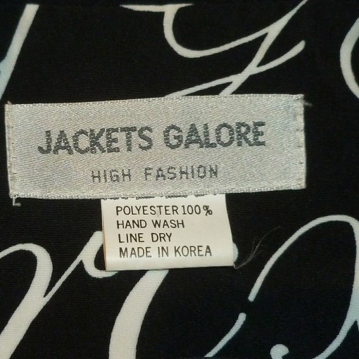 Donna Fargo's Jackets Galore Jacket - Country Music Stage Clothing