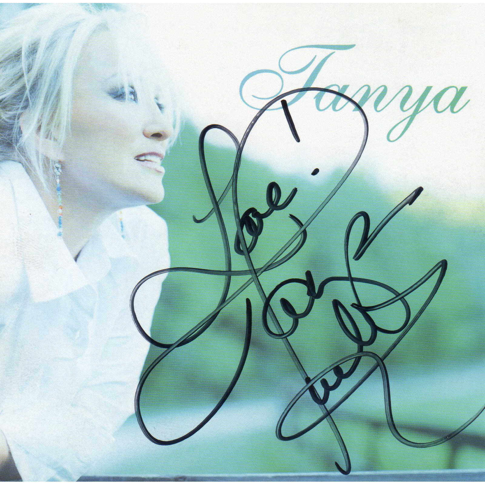 Tanya Tucker Tanya CD Autographed Country Music Memorabilia