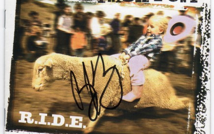 Trick Pony Ride CD Autographed Country Music Memorabilia