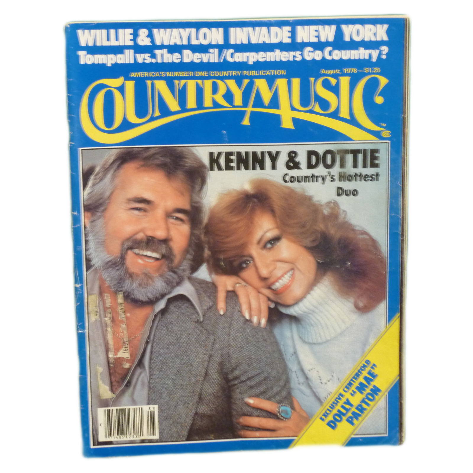 Country-Music-Magazine-Kenny-Rogers-Dottie-West