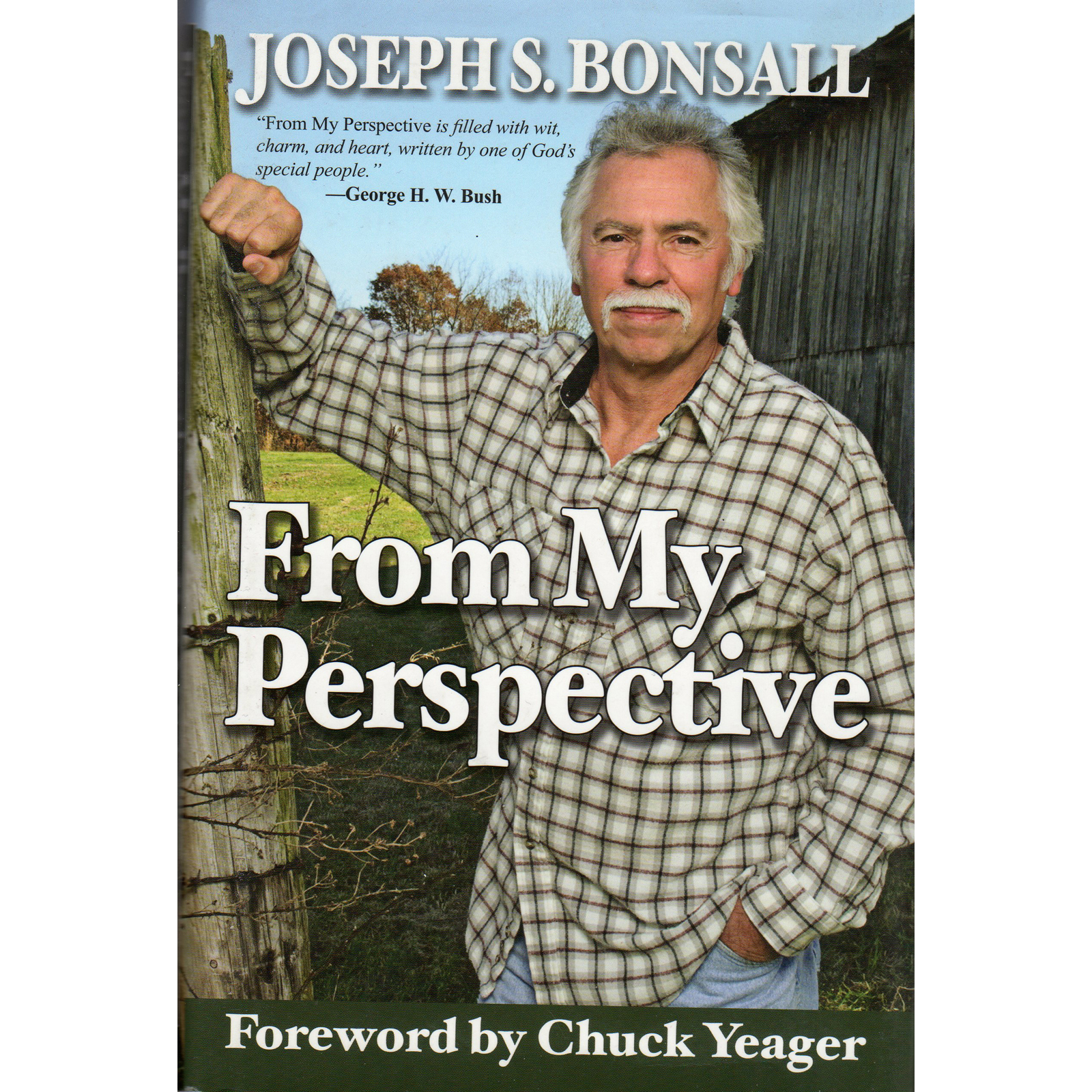 Joe Bonsall JOSEPH S BONSALL From My Perspective Book Autographed Signed Star