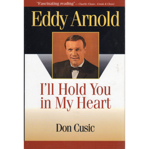 EDDY ARNOLD I'll Hold You In My Heart Book Autographed Signed
