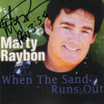 MARTY RAYBON When The Sand Runs Out CD Autographed Signed