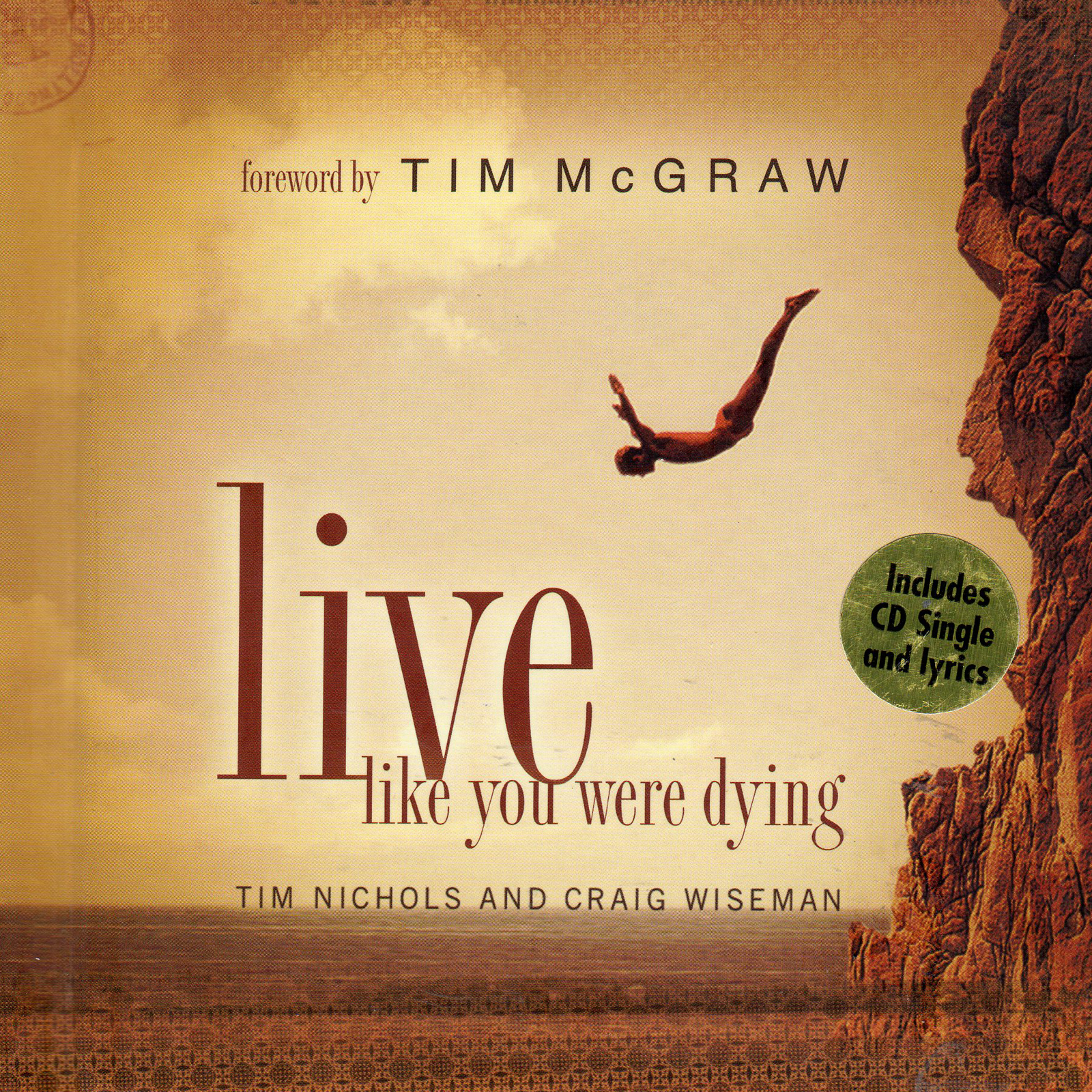 ... / Other Books / TIM McGRAW Live Like You Were Dying Gift Book & CD