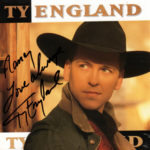 TY ENGLAND Self Titled CD Autographed Signed