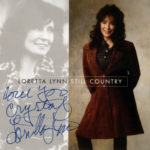 LORETTA LYNN Still Country CD Autographed Signed