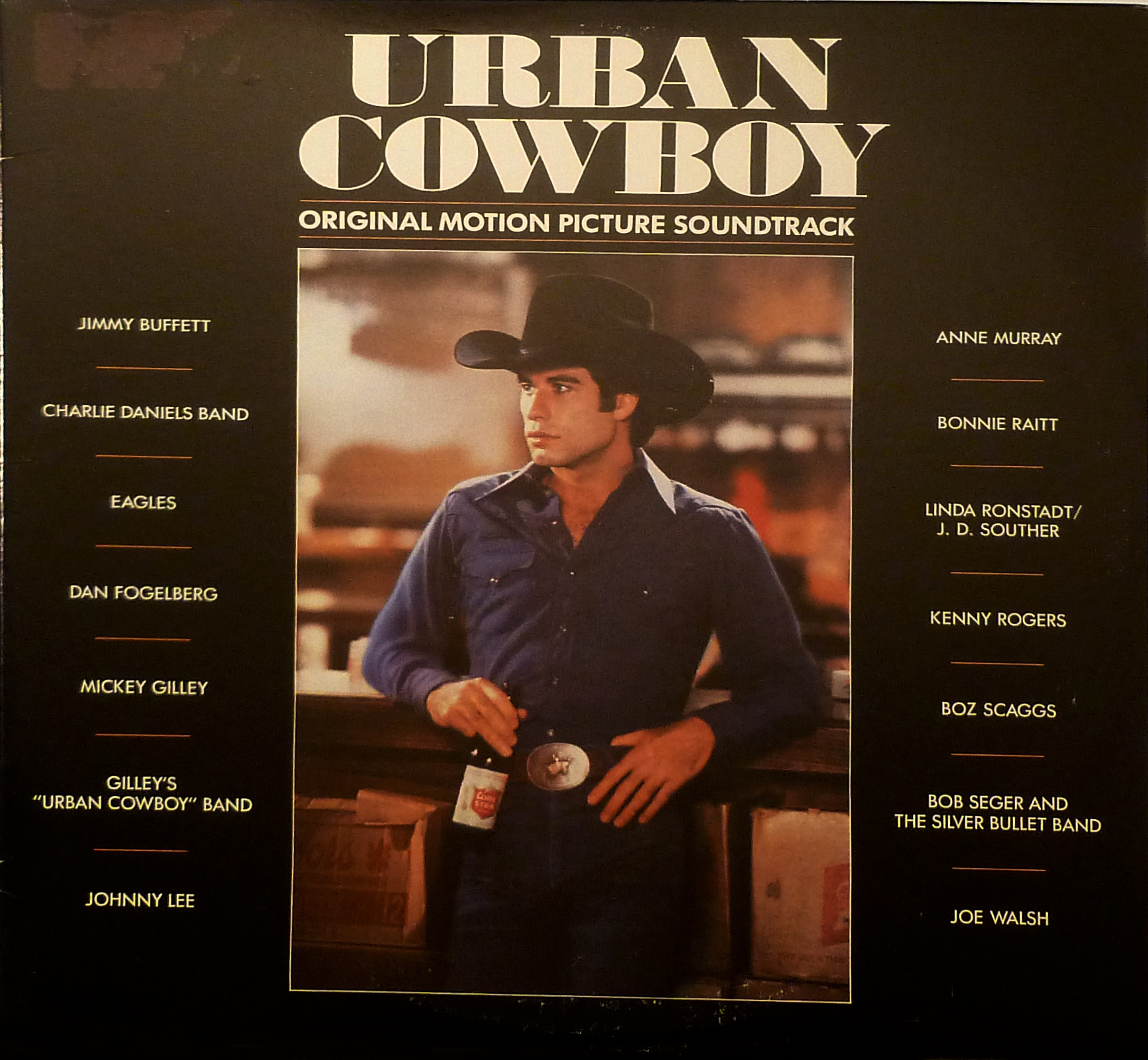 Urban Cowboy Original Motion Picture Soundtrack LP