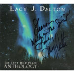 LACY J DALTON The Last Wild Place Anthology Digipak CD Autographed Signed