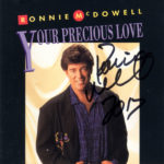 RONNIE MCDOWELL Your Precious Love CD Signed Autographed