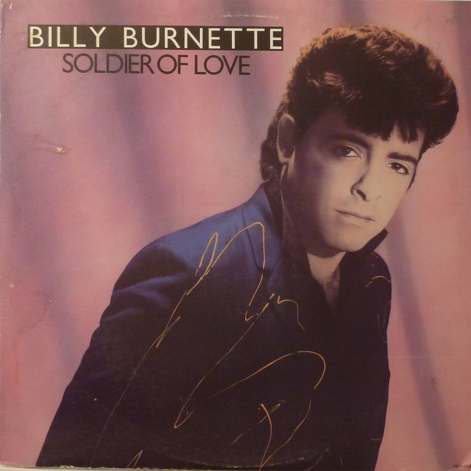 Billy Burnette Soldier Of Love LP