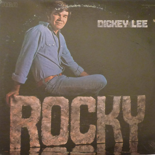 DICKEY LEE Rocky LP Autographed Signed