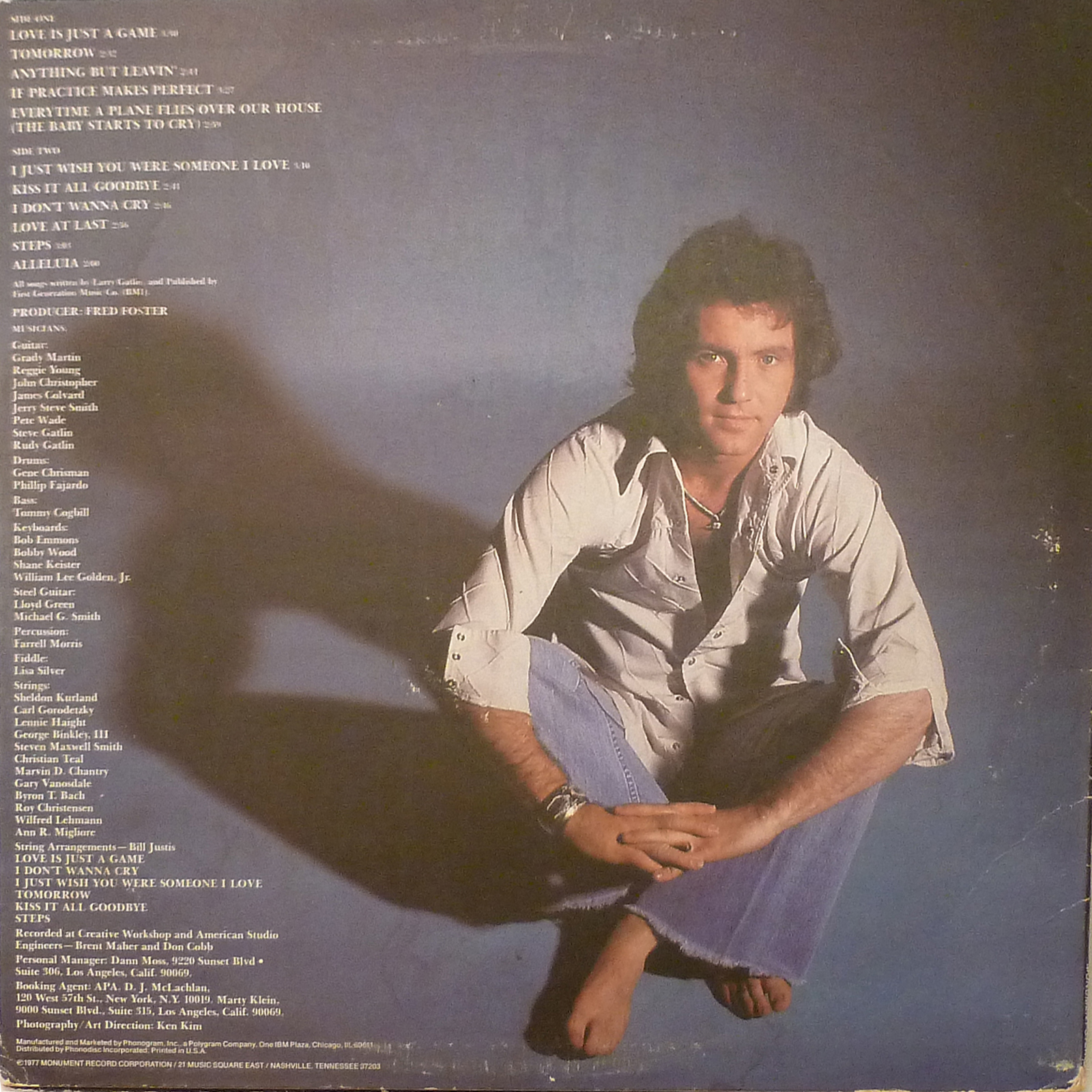 Larry Gatlin Love Is Just A Game LP