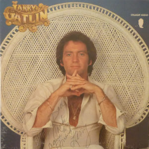 Larry Gatlin Straight Ahead LP Autographed