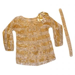 DONNA FARGO's Gold Silver SISTER MAX Sequin Top