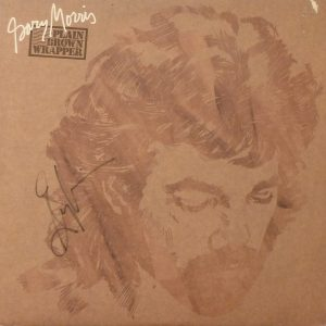 GARY MORRIS Plain Brown Wrapper LP Autographed Signed